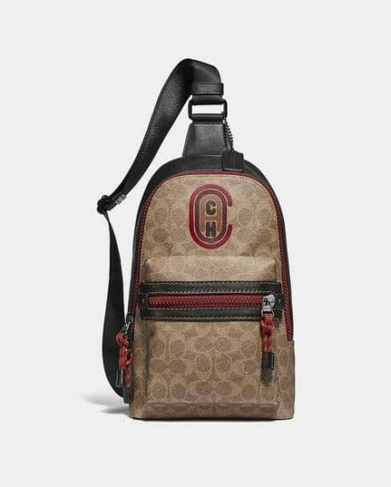 Fashion 4 Coach Academy Pack In Signature Canvas With Coach Patch