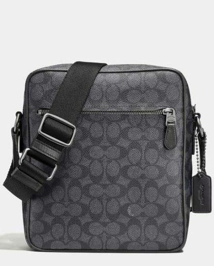 Fashion 4 Coach Metropolitan Flight Bag In Signature Canvas