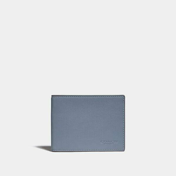 Fashion 4 Coach Slim Billfold Wallet In Colorblock