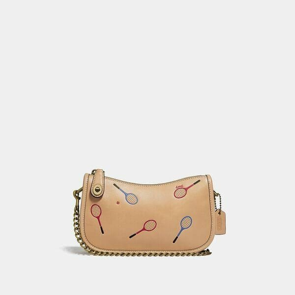 Fashion 4 Coach Swinger 20 With Racquet Print