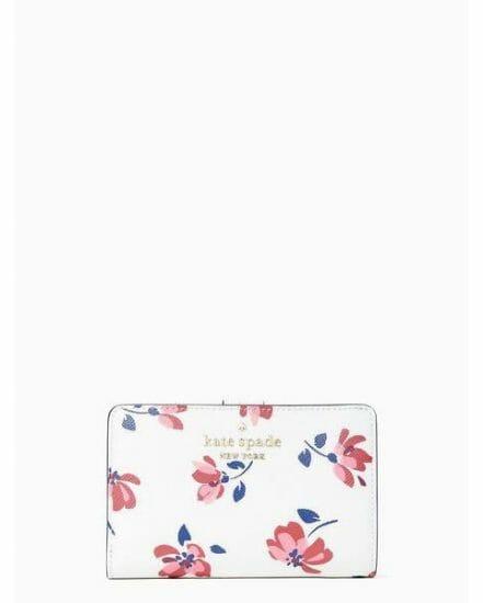 Fashion 4 - staci tea garden toss medium compact bifold wallet