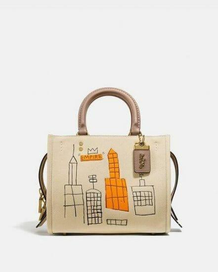 Fashion 4 Coach Coach X Basquiat Mecca Rogue Bag 25