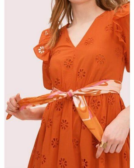 Fashion 4 - giraffe silk square scarf