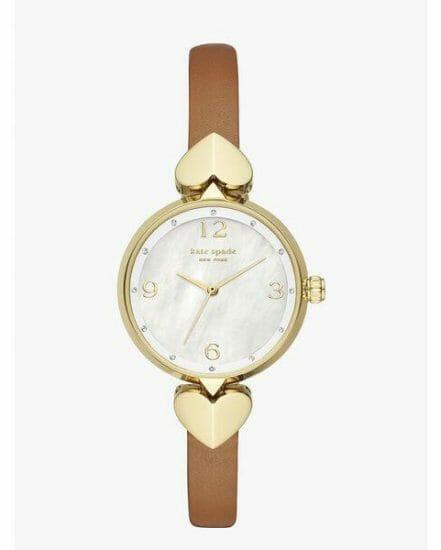 Fashion 4 - hollis luggage leather watch