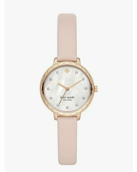 Fashion 4 - morningside three hand leather watch