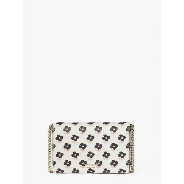 Fashion 4 - spencer block print floral chain wallet
