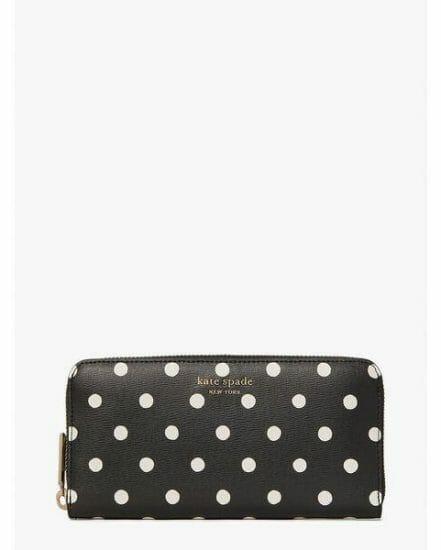 Fashion 4 - spencer sunshine dot zip-around continental wallet