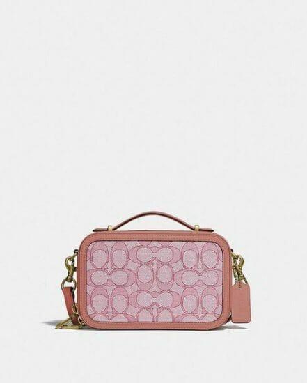 Fashion 4 Coach Alie Belt Bag In Signature Jacquard
