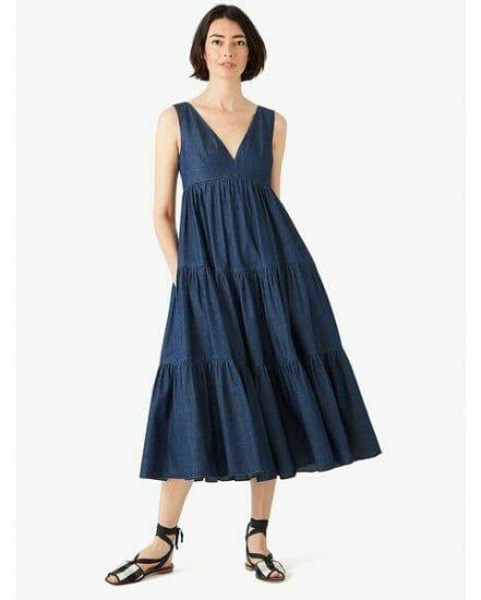 Fashion 4 - chambray vineyard midi dress