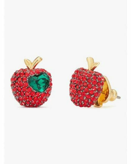 Fashion 4 - dashing beauty pavé apple studs