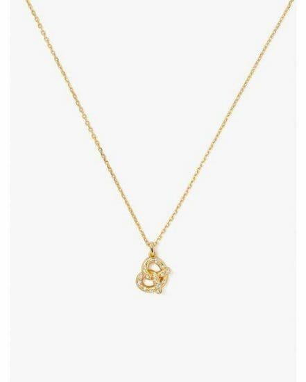 Fashion 4 - dashing beauty pretzel pendant