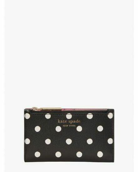 Fashion 4 - spencer sunshine dot small slim bifold wallet