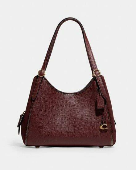 Fashion 4 Coach Lori Shoulder Bag With Snakeskin Detail