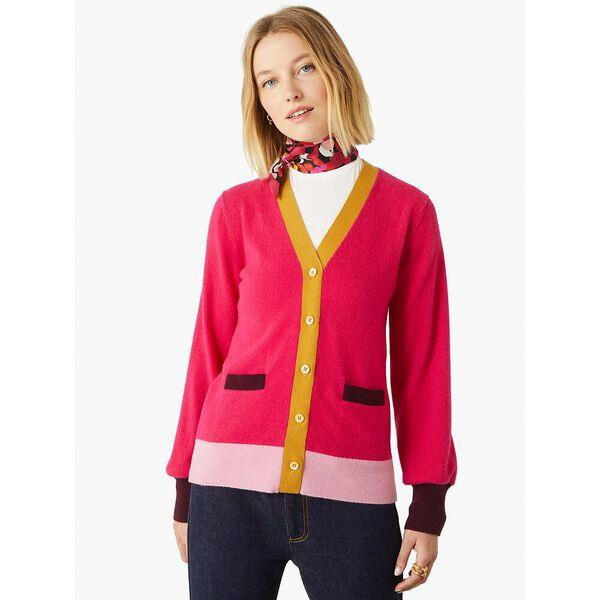 Fashion 4 - colorblock cashmere gallery cardigan