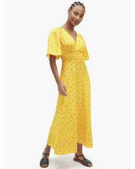 Fashion 4 - dainty bloom satin dress