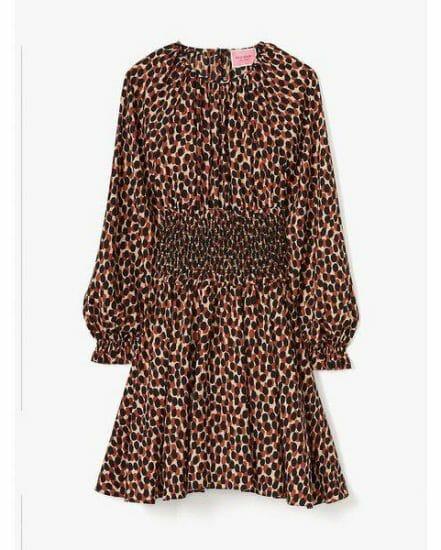 Fashion 4 - dotty leopard spin dress