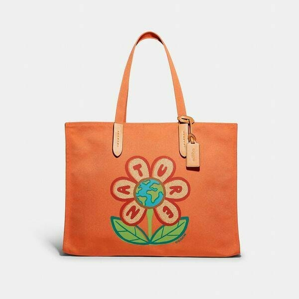 Fashion 4 Coach 100 Percent Recycled Tote 42