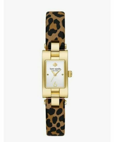 Fashion 4 - brookville leopard leather watch