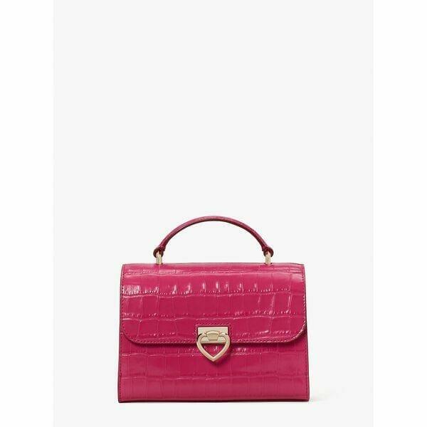 Fashion 4 - lovitt croc-embossed small top-handle bag
