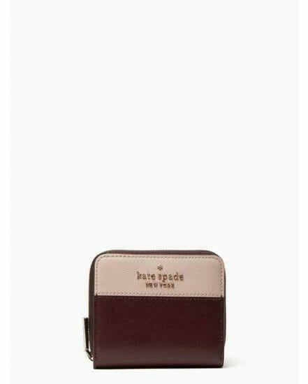 Fashion 4 - staci colorblock small zip around wallet