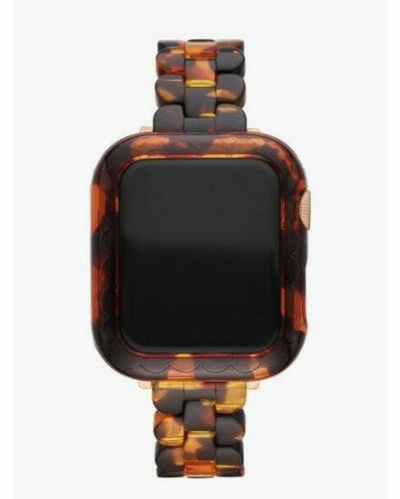 Fashion 4 - tortoiseshell acetate 38/40mm cover for apple watch®